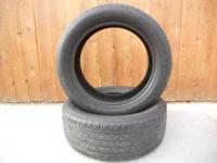 TWO 225/50R17 MICHELIN PILOT MXM4 TIRES FOR SALE GREAT