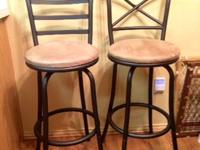 "Two 29"" Metal Bar Stools purchased from Walmart 2"