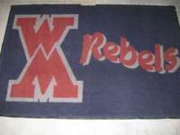 Two 4x6 WM Rebel Mats for sale.  Location: West Monroe,