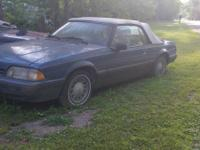 88 ford mustang convertible, needs leading n minor