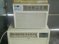two window devices. Is a Haier 18000 btu. 220v. device.
