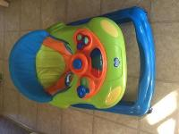 Two infant walkers for sale, $27 each, that our twins