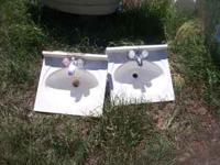 two bathroom sinks asking 25 for each or 50obo for both