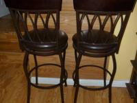 Bought these two bar stools from Bed Bath and Beyond