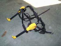 I have for sale this USED two bicycle carrier. If you