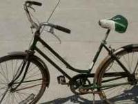 two vintage bicycles from the 60's. Sears bike with