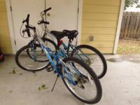 I have two bikes for sale: $60 each or both for $100.