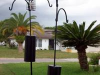 Two bird feeding and/or watering stations from Wild