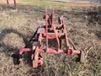 I am selling a two bottom plow. It has a three point