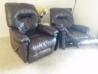 Type: Furniture Type: Recliners The best deal! Two