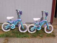 Two children bikes. $20.00 each or $40 for the pair or