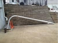 This sale is for two commercial grade basketball hoops