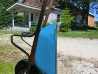 For Sale are two Contractor's Wheel Barrows in