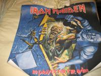 up for sale is my two iron maiden posters. the worry of