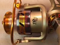 The EF4000 reels are premium quality. Starting with a
