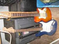 One is a fender and one a godin , comes with fender