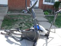 We are selling our 2 ellipticals. The big one is by