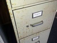 Two Filing Cabinets Could use cleaning - hence low