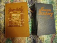 These two Gene Autry books are for sale for an overall