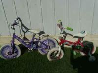 I am selling two girls bikes. If interseted call at