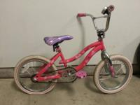 I have two little girl bikes. The Barbie bike needs