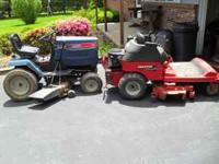 i am listing TWO lawn mowers for one low price.. the