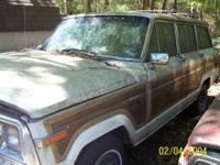 Description Two Grand Wagoner Jeep Cherokee for parts