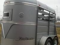 If you are Looking for a two horse trailer like new