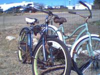 I got two Huffy bikes for sale, need some work but in