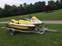 I have 2 jet skis with a double aluminum trailer. The