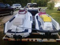 I have 2 running yamaha waverunner jet skis. one is a
