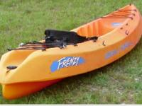 2 used and in good condition, Kayaks. One is an OCEAN