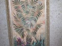 VERY NICE, TWO LARGE COMMERCIAL GRADE TROPICAL DESIGN
