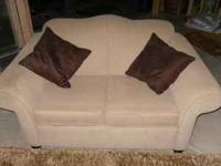 Two love seats from Lazy Boy Furniture. They are in
