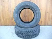 TWO LT265/70R17 TRAIL MARK RADIAL TIRES FOR SALE 6 PLY