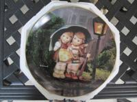 These two M. I. Hummel plates by Danbury Mint from the