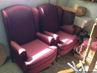 These chairs are located in Giddings,TX. The chairs are