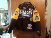 Two new motorcycle jackets size large retail cost 80.00