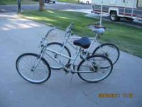Two Murray Biotech bikes (His and Hers) $50.00 for