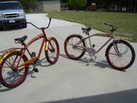 I have for sale a 2010 and a 2012 fat tire cruiser.