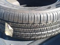 I have two new Goodyear Viva P205/65R16 tires, a new