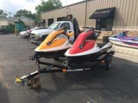Two NEW 2005 Sea-Doo 3D Premium personal watercraft AND