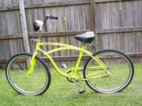 Two nice Beach Cruisers for sale, like new,100.00 each.