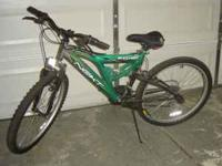 TWO LARGE BICYCLES GOOD CONDITION 125.00 FOR BOTH OR