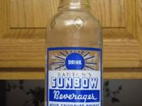 I am looking for an old soda pop bottle from