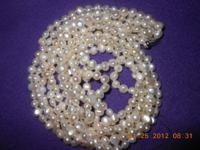 First $75 FOR THE PAIR ONE PEARL NECKLACE HAS THE 14KT