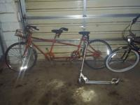 I Have Two Items For Sale . the first bicycle is a