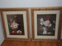 FOR SALE TWO BEAUTIFUL PICTURES, EXCELLENT CONDITION,