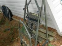 I have a little two piece climber tree stand that im