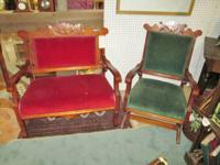 This is a beautiful 2 piece Victorian parlor set. The